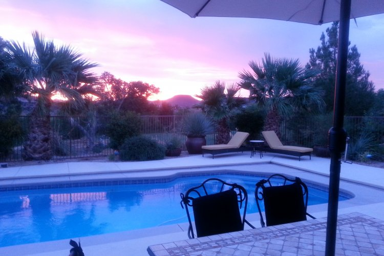 Luxury golf course home with pool hot tub in usa utah for Affordable pools st george utah